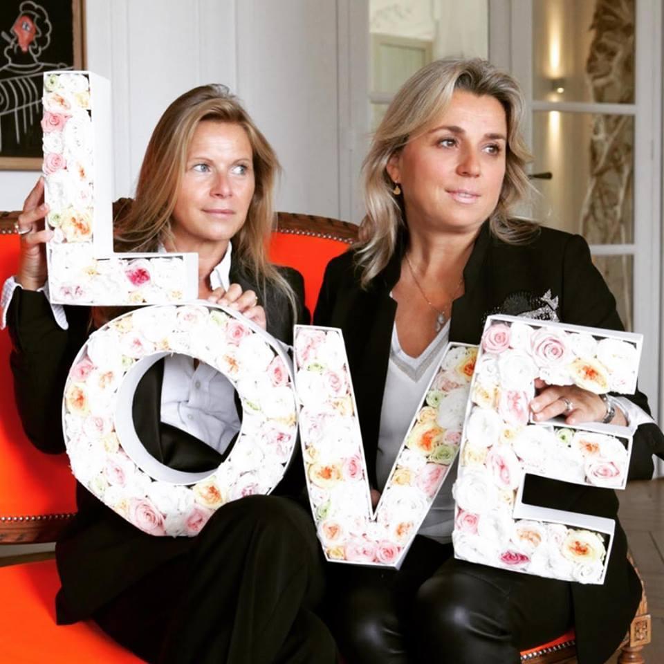 Владелицы цветочного магазина Lachaume в Париже Стефани и Каролин. Фото: facebook/lachaume.fleurs