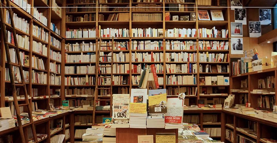 Книжный магазин Calignani в Париже. Фото: Calignani.