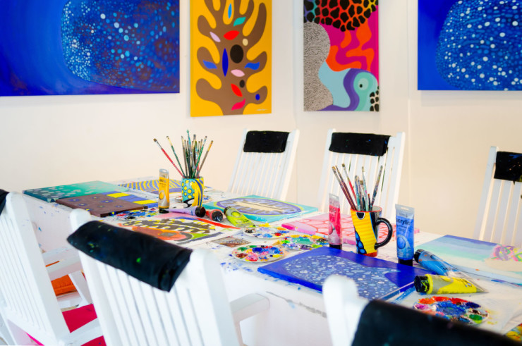 One&Only Reethi Rah, художественная студия