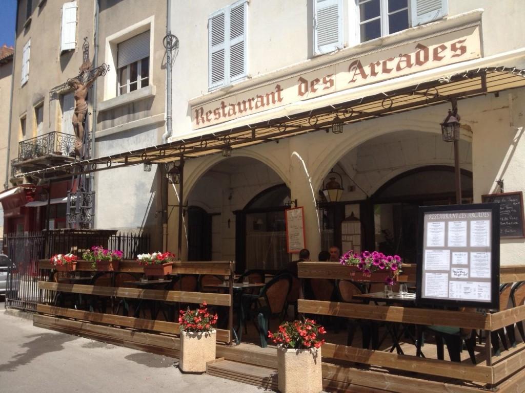 Les Arcades Фото: restaurant-les-arcades.fr