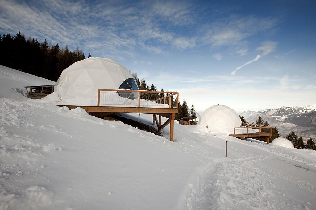 Эко-отель Whitepod, Швейцария Фото: tourismdaily.ru