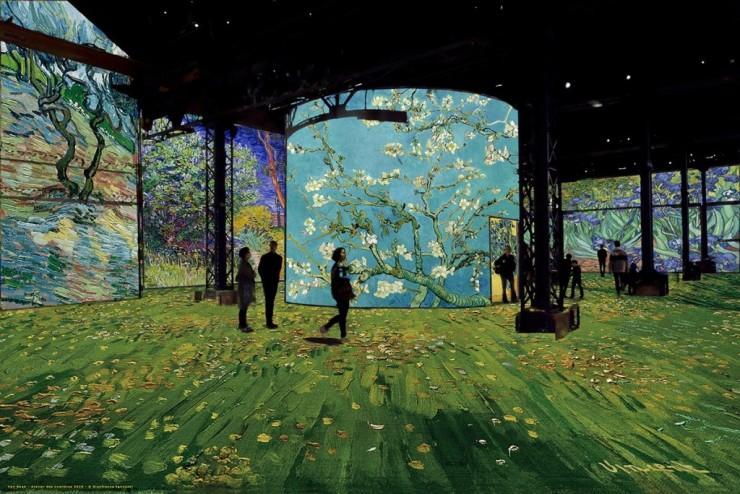 Цифровая выставка La nuit étoilée © Gianfranco Iannuzzi