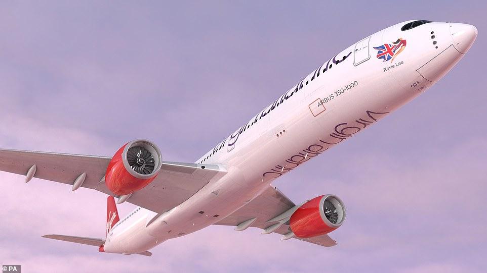 Новый Airbus A350-1000. Фото: Virgin Atlantic.