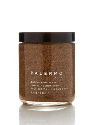 Кофейный скраб для тела Palermo body/ COFFEE BODY SCRUB - COFFEE + LEMON Palermo body