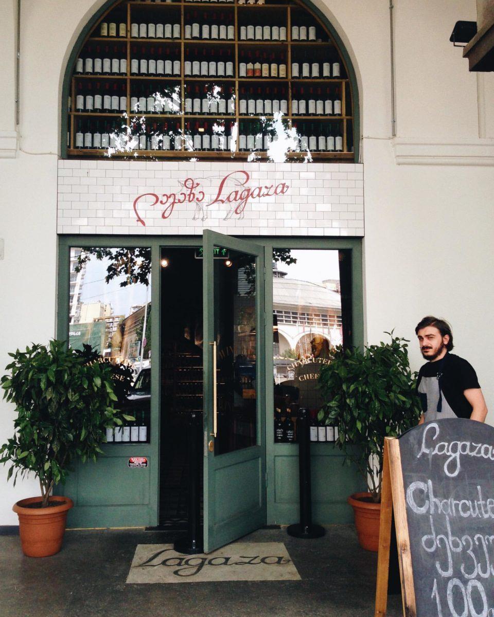 Lagaza Wine Bar.