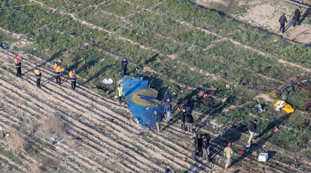 Авиакатастрофа под Тегераном