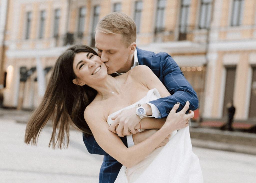 Сабина Мусина и Андрей Трушковский