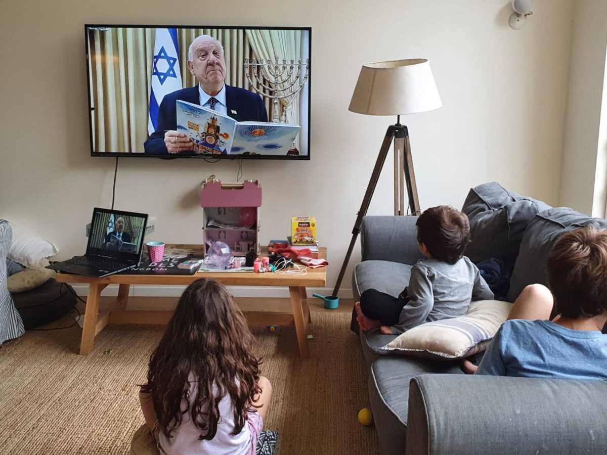 Реувен Ривлин призывает проводить больше времени с детьми