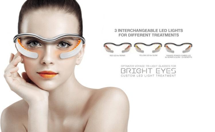 Очки со светодиодной хромотерапией