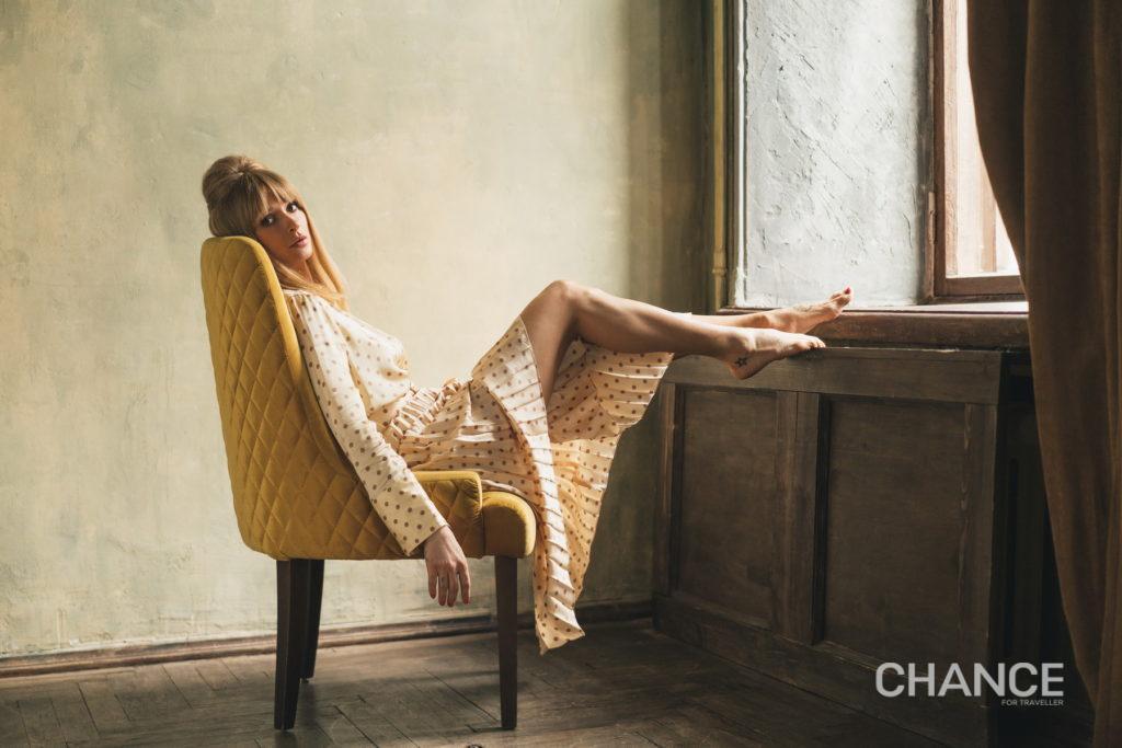 Блуза, юбка Sandro