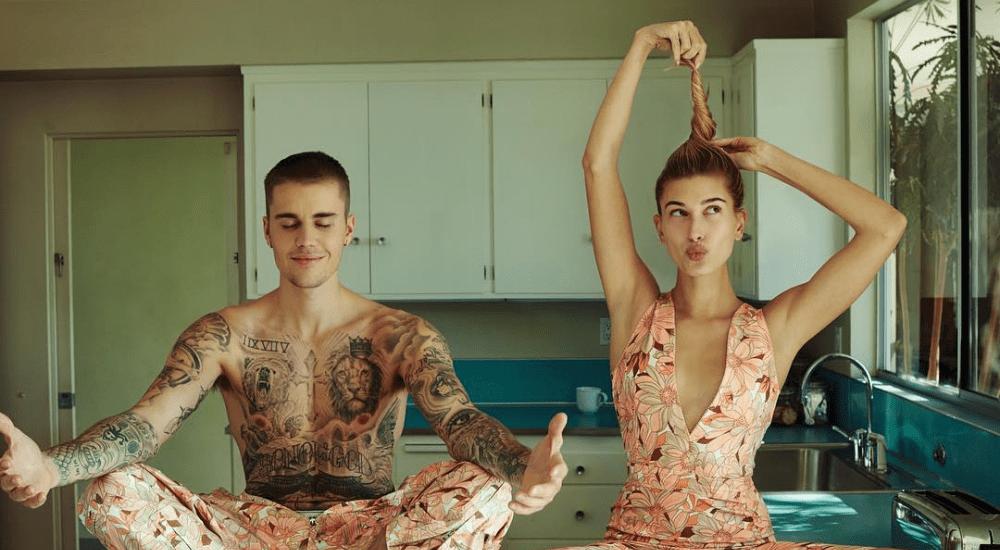 Джастин и Хейли Бибер наслаждаются домашним времяпровождением