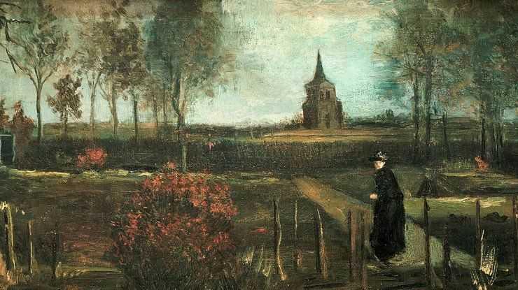 «Весенний сад» Ван Гога украли