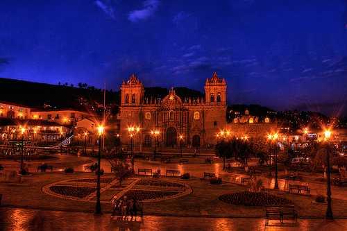 Главная площадь в Куско