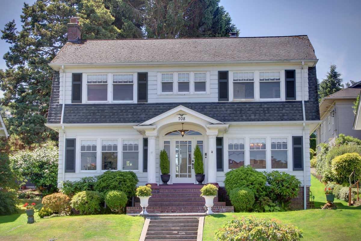 Дом Лоры Палмер, настоящий дом Лоры Палмер, Твин Пикс, Эверетт, Вашингтон