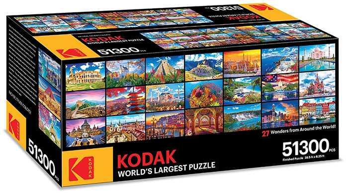 Kodak представили самый большой в мире пазл