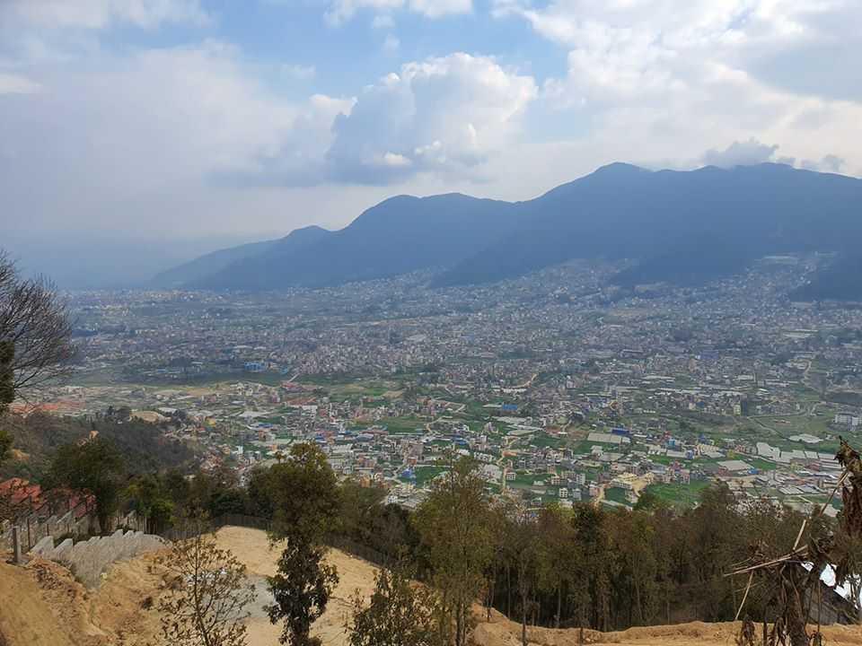 Карантин в Непале - монастырь в Катманду