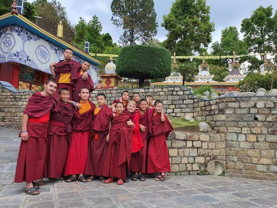 Монастырь в Катманду, Непал