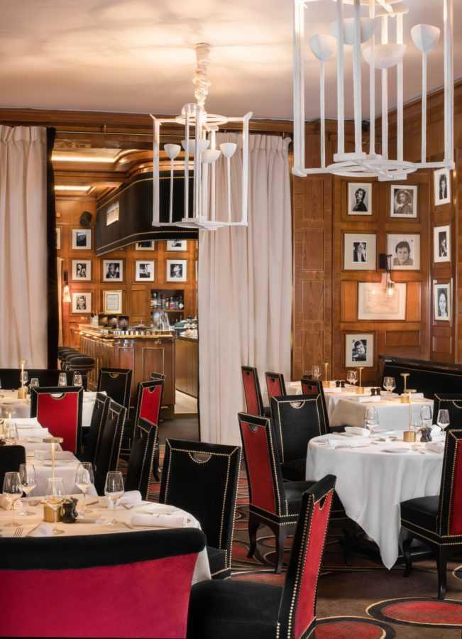 Брассери Fouquet's отеля Hôtel Barrière Le Fouquet's Paris