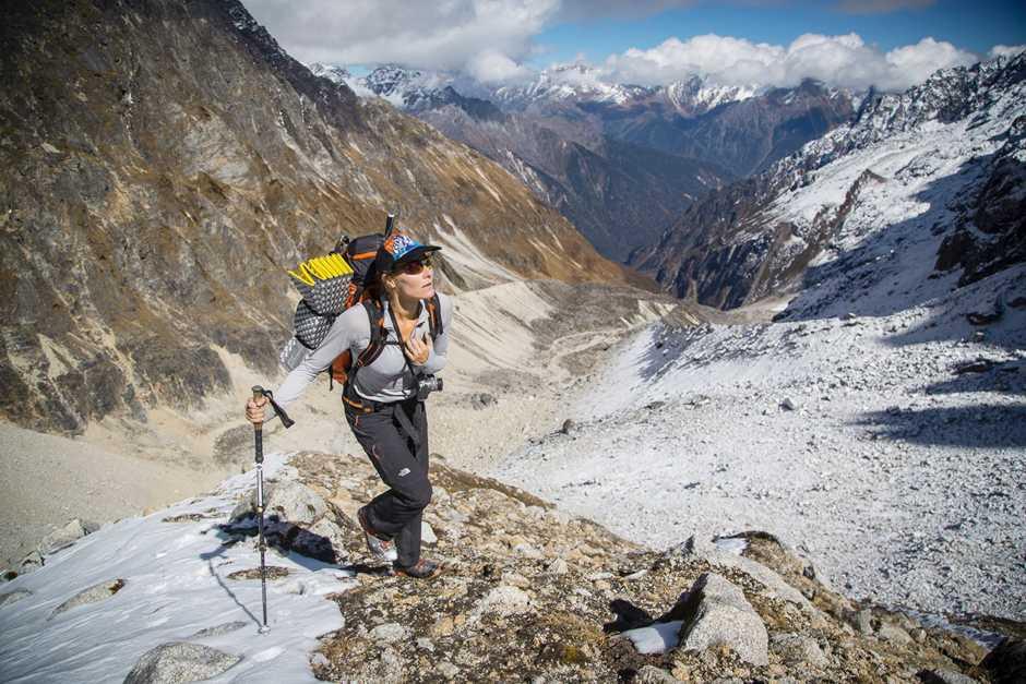 Хилари О'Нил всего за 24 часа совершила двойное восхождение на горные вершины Эвереста и Лхоцзе