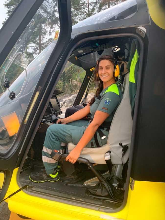 Медсестра на вертолете - Швеция