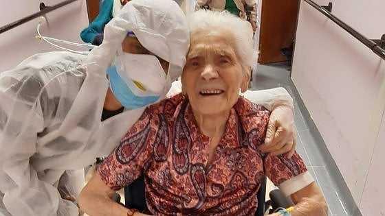 104-летняя Ада Зануссо стала самым пожилым человеком в мире, выздоровевшим от Covid-19