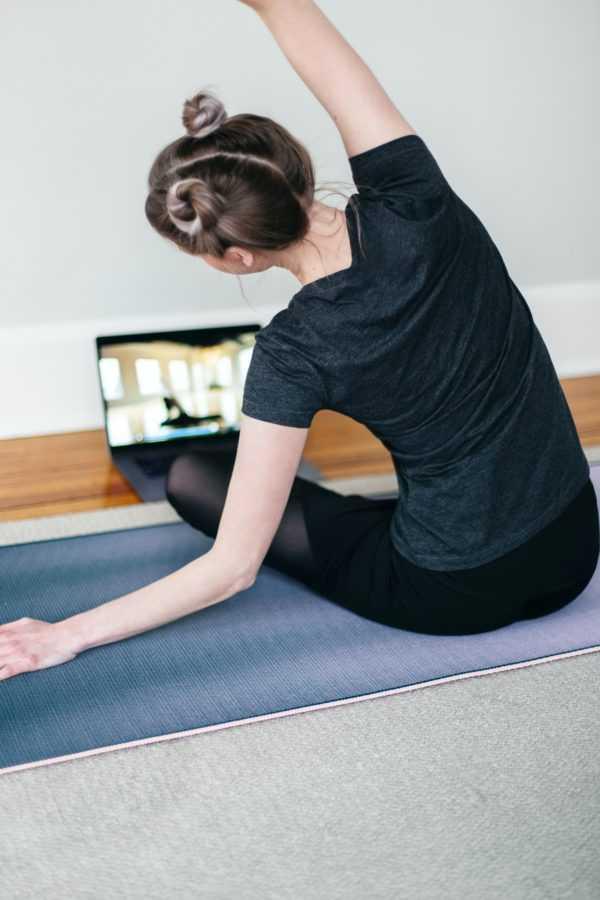 Онлайн-йога