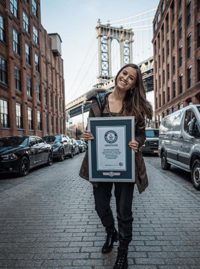 стала самой юной путешественницей и установила новый рекорд Гиннесса