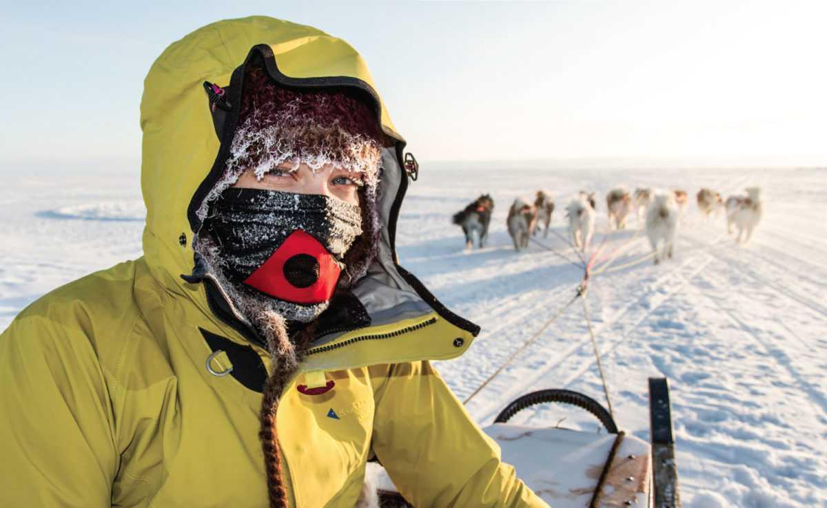 В 18 лет девушка отправилась в лыжную экспедицию на Южный полюс