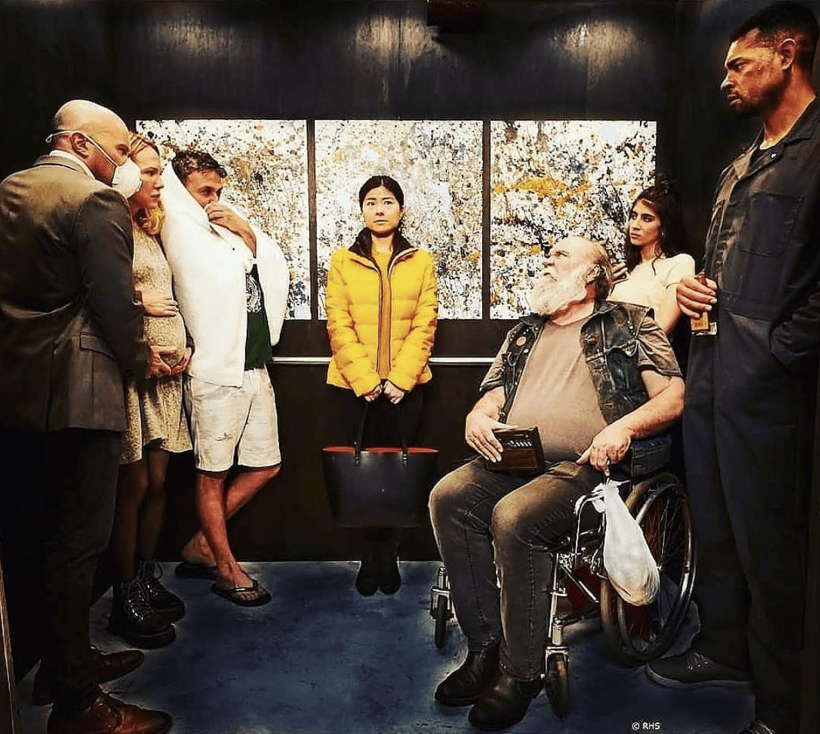 кадр из драмы «Корона»