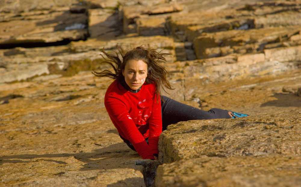 Девушка ежегодно совершает 200–300 прыжков и полетов