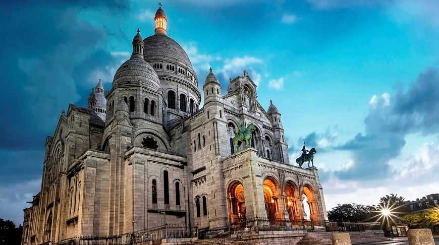 виртуальный тур в Париж