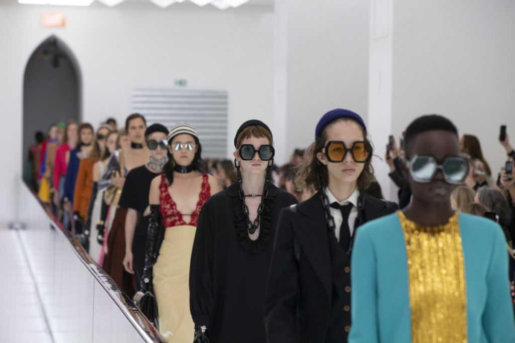Gucci отказался от участия в неделях моды