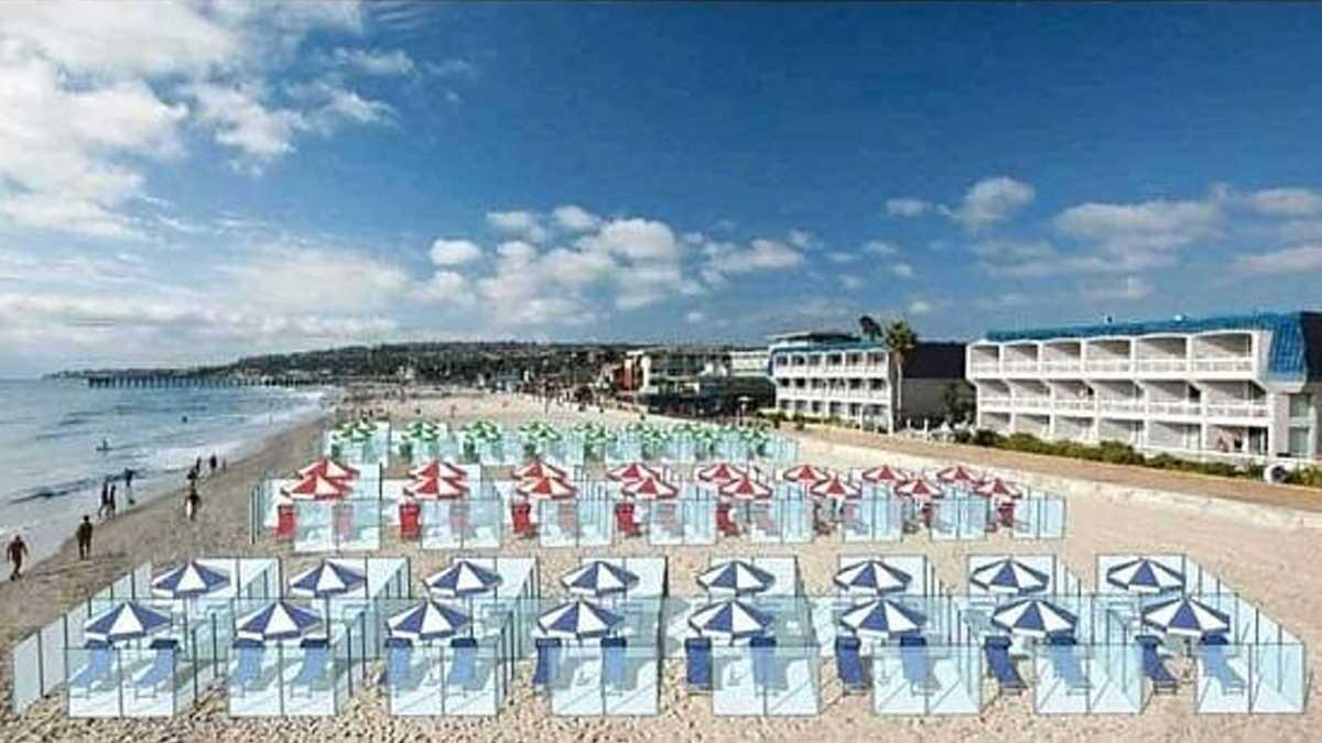 Компания Nuova Neon Group 2 подготовила решение для пляжей и кафе