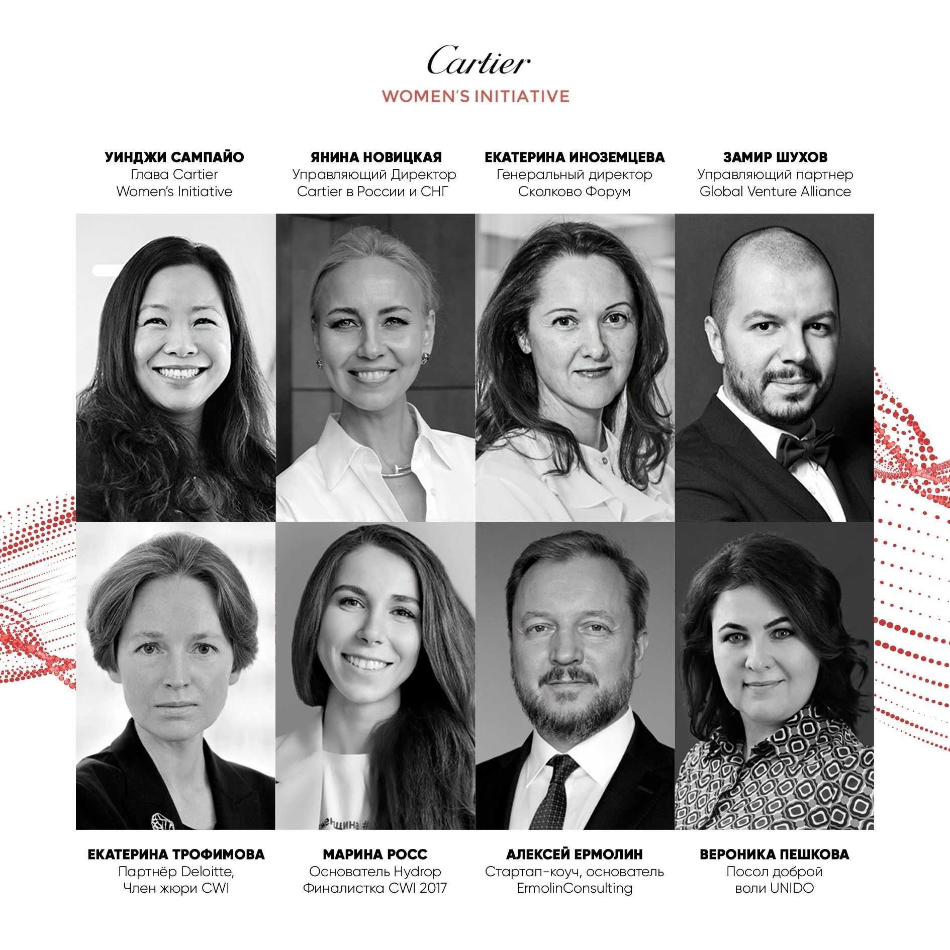 Спикеры онлайн-конференции Cartier