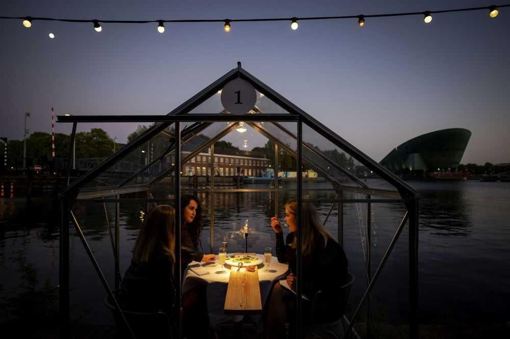 В Амстердаме разработали концепт «теплиц» для гостей