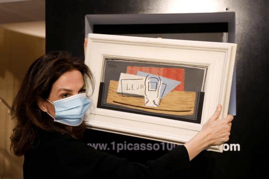 Итальянка случайно выиграла в лотерее картину Пикассо