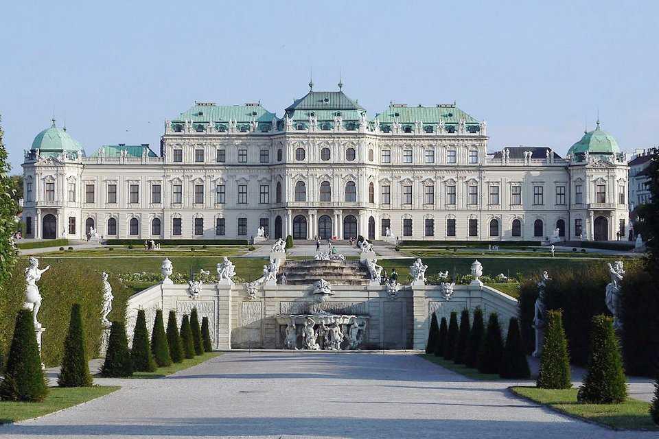 виртуальный тур в вену: Бельведер