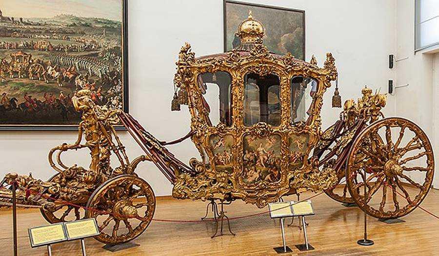 Венский музей императорских карет Вагенбург