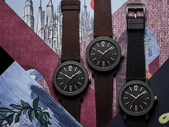 новая коллекция часов Bvlgari