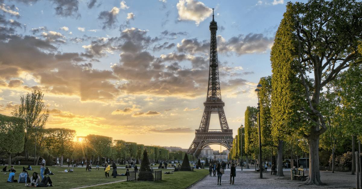 Франция открывает границы с 15 июня