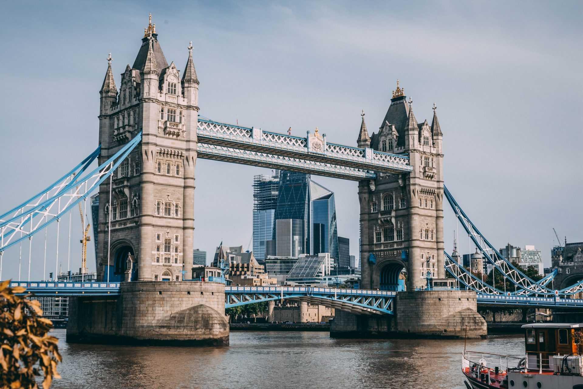 Виртуальный тур в Лондон: Тауэрский Мост