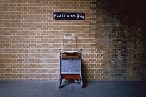 Виртуальный тур в Лондон: платформа 9 ¾