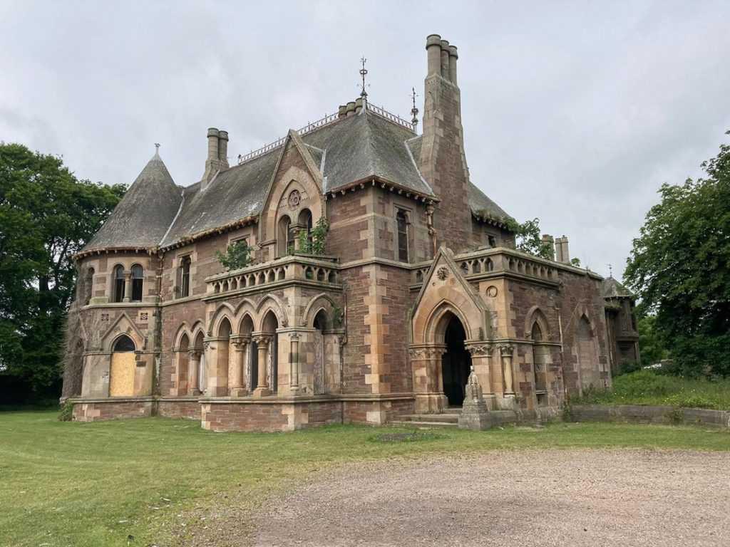 В Шотландии продают особняк XIX века