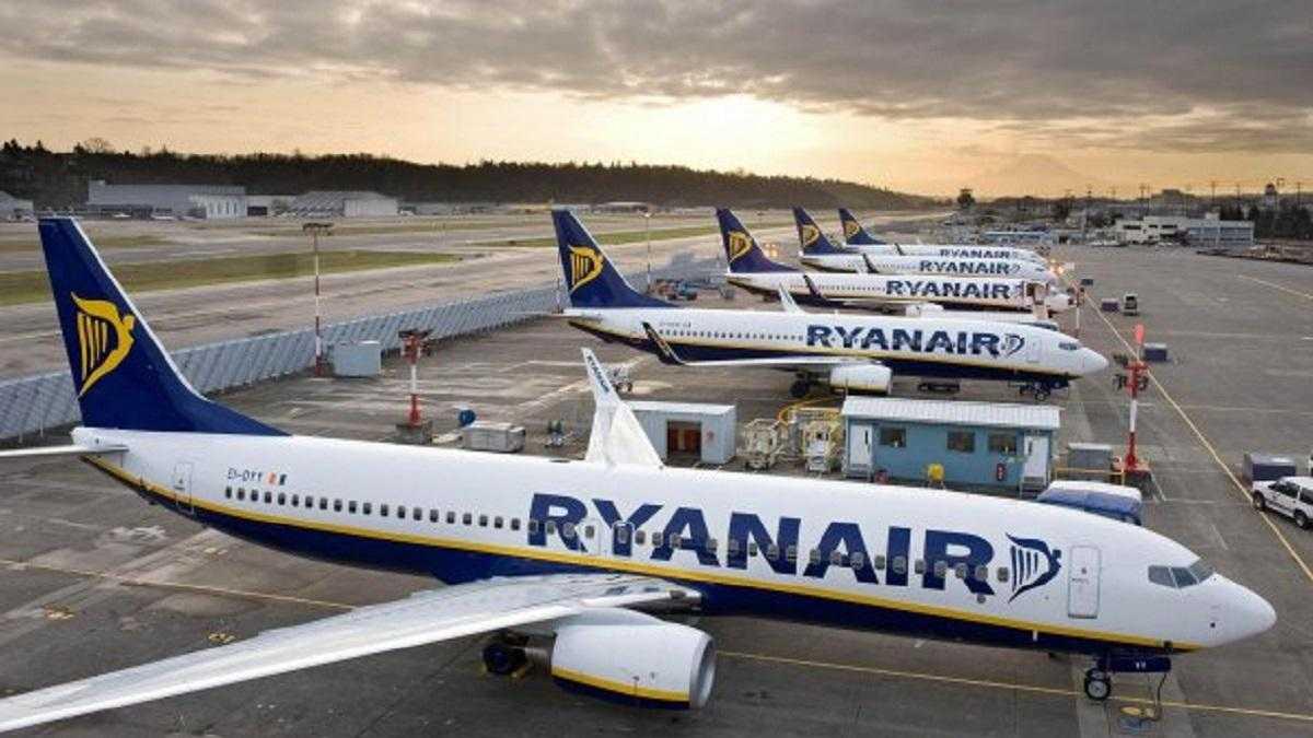 Ryanair возобновляет полеты из Украины по 20 маршрутам