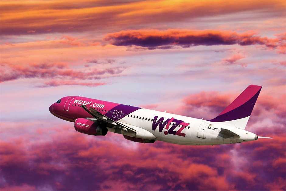 Wizz Air анонсировал запуск 30 новых маршрутов