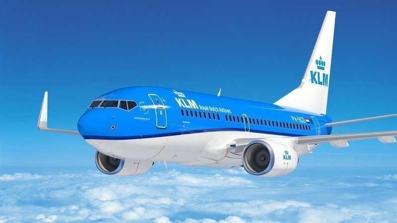 KLM возобновляет регулярные рейсы из Амстердама в Киев