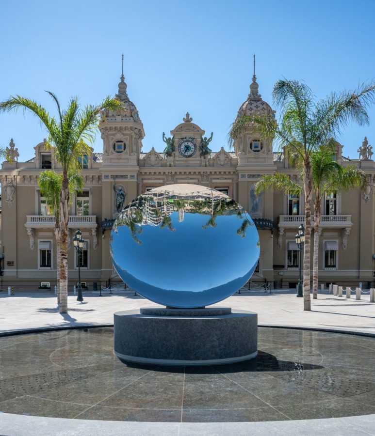 реновация Place du Casino в Монако