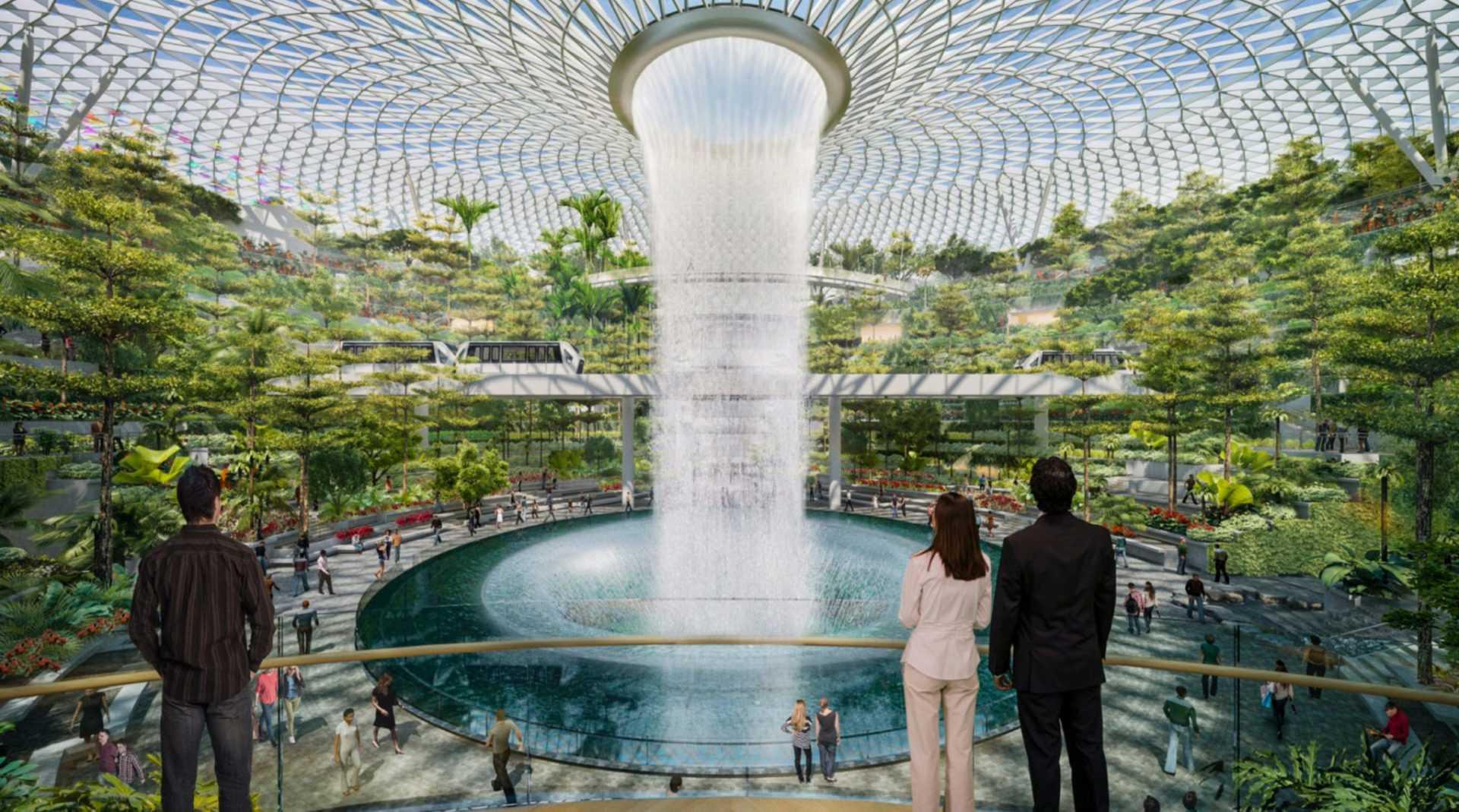 ТОП-10 лучших аэропортов: Международный аэропорт Чанги в Сингапуре