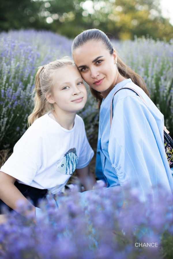 Евгения Тимошенко с дочкой