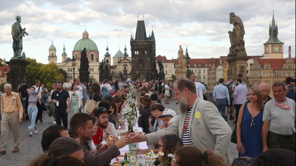 Прага вечеринка